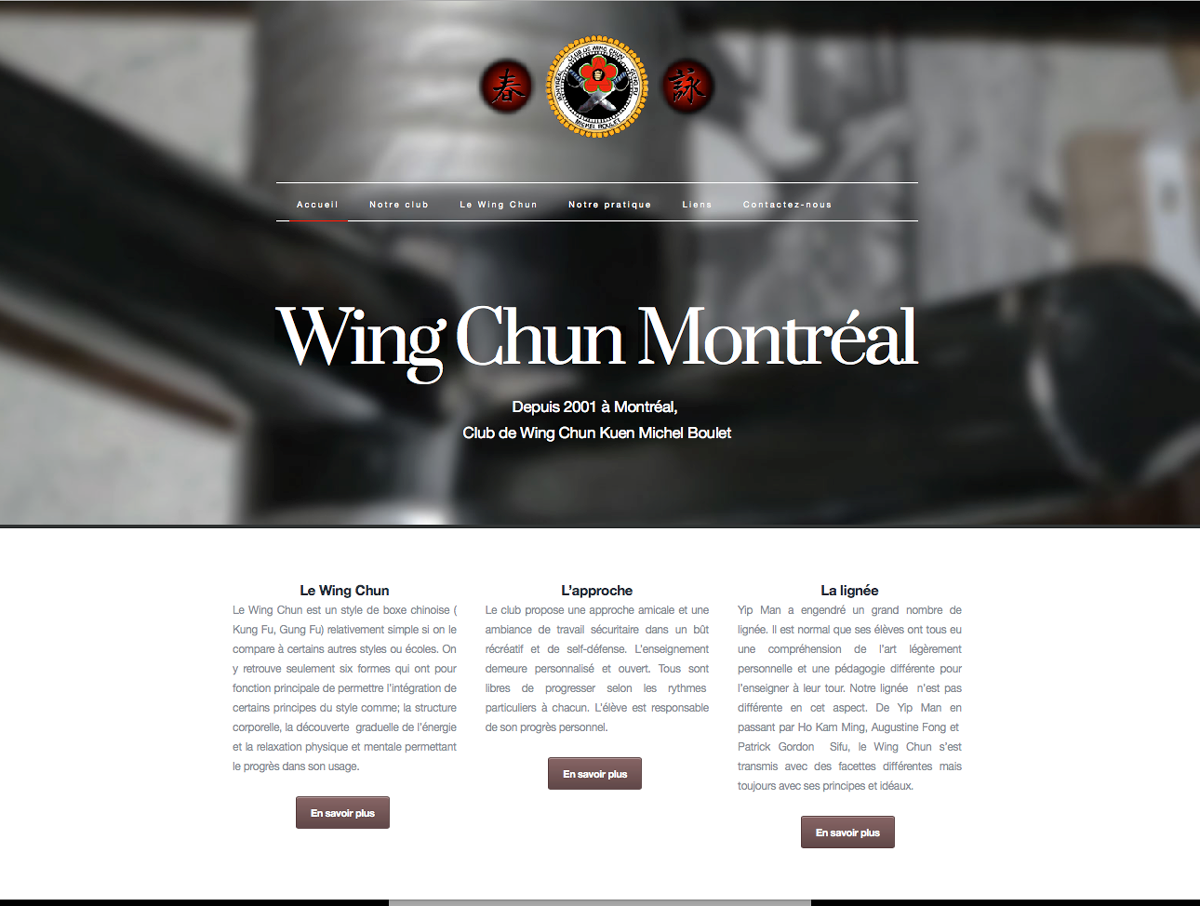Club de Wing Chun Michel Boulet